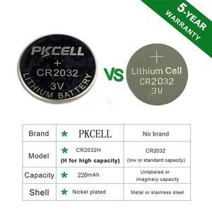 Image 2 - PKCELL 5Pcs/1Cards CR2032 5004LC 220mAh+5Pcs/1Cards CR2025 5003LC 150mAh+5Pcs/1cards CR2016 5000LC 75mAh 3V Lithium Button Cell