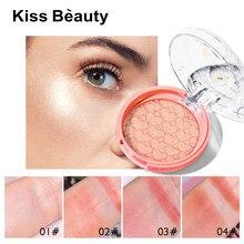 Fard à joues mat Palette de maquillage poudre minérale Rouge longue durée crème naturelle joue rose maquillage visage cosmétiques Maquillaje TSLM1