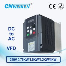 цена на WK310 Vector Control frequency converter DC 200V-400V to Three-phase 220V solar pump inverter with MPPT control