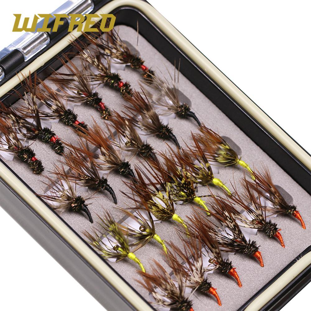 24pcs/box Tenkara Flies with Waterproof Fly Box 1