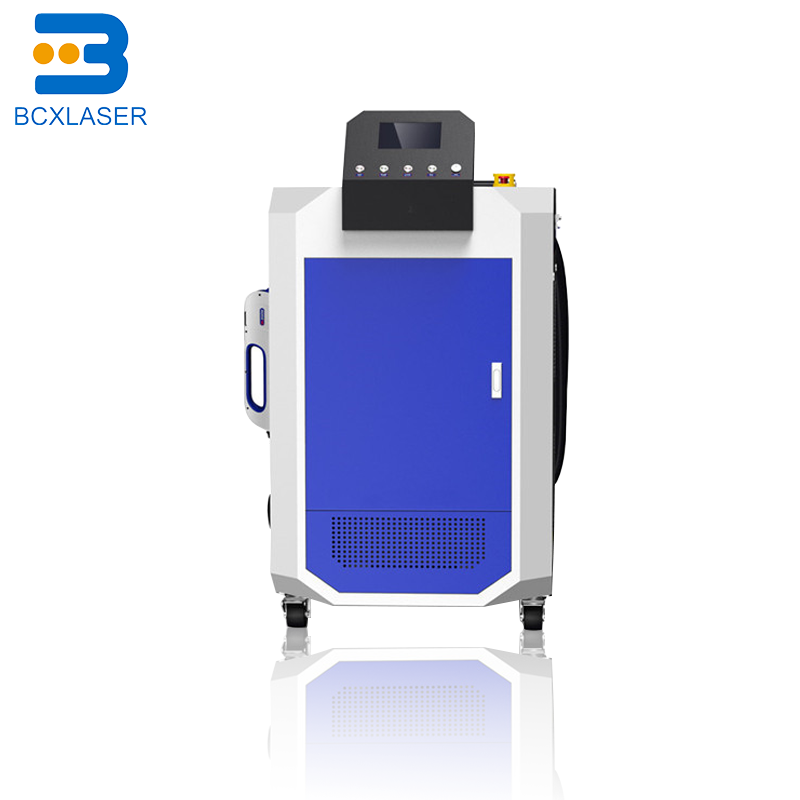 50w Used For Auto Parts, Rubber Mold, Track Cleaning Backpack Laser Cleaner