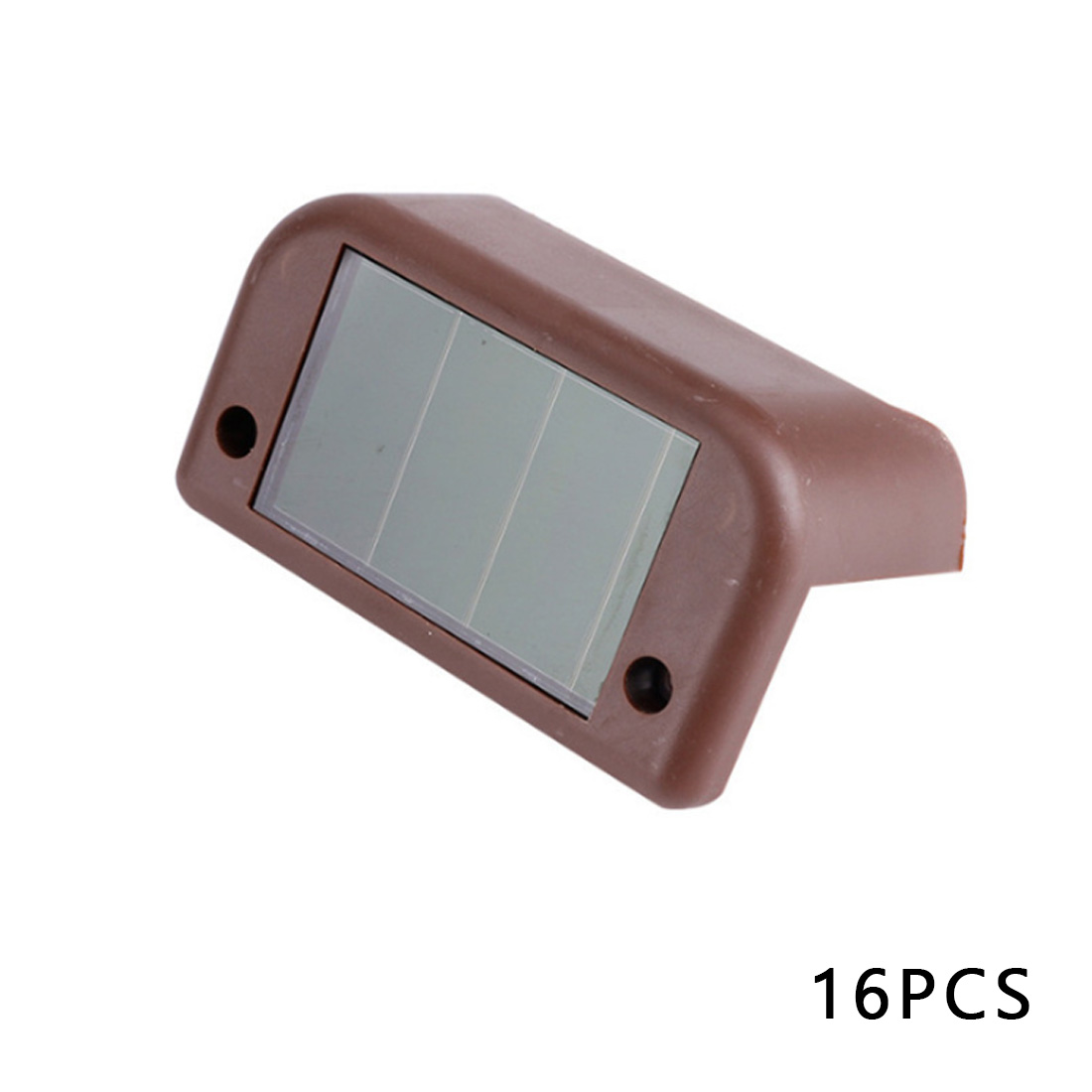 4//8//12X LED Solar Deck Lights Outdoor Path Garden Pathway Stairs Step Fence Lamp