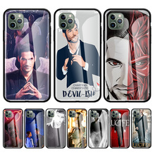 American TV Lucifer Protective Glass Cases For Apple iPhone 11 Pro Max SE 2020 XR XS X 7 8 6 6S Plus Tempered Phone Coque Shell