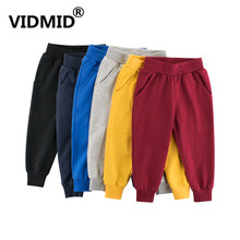 Boy Pants Clothing Kids Trousers Spring VIDMID Teenage Autumn Casual Children New 2-10T