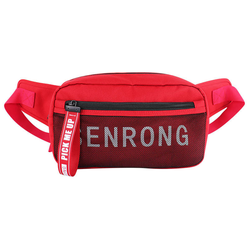 2019 New Style Outdoor Tool Waterproof Waist Bag Men's Nylon Cloth Printing Multi-functional Color Wallet Customizable