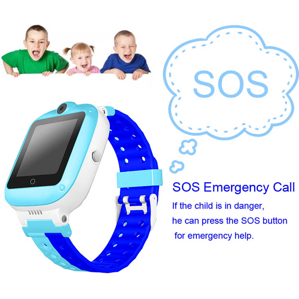 New Exclusive R6 Smart Watch Waterproof Child Baby Watch Child SOS Call Locator Tracker Anti-lost Monitor Intercom with Camera
