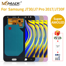 Super AMOLED LCD for SAMSUNG J7 Display J730 J730F Pro Touch Screen Replacement For Galaxy 2017