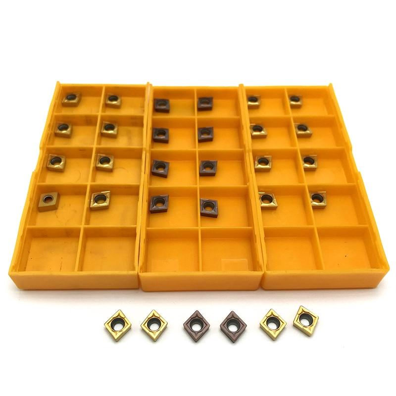 Carbide Insert CCMT060204 VP15TF UE6020 Internal Turning Tool Metal Lathe Tools Tool Milling Tool Tungsten Carbide Ccmt 060204