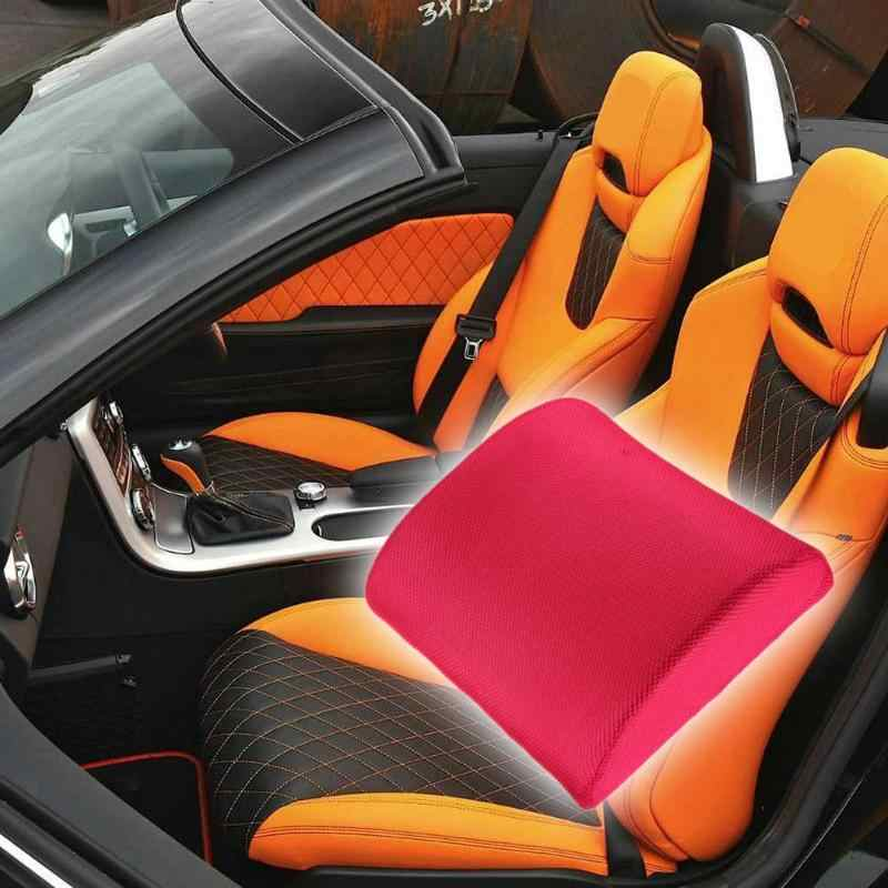 Espuma de memoria respaldo cojín Lumbar alivio para oficina hogar coche Auto asiento de refuerzo para el hogar Oficina o coche cojín