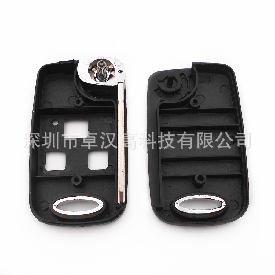For Toyota Windom Lexus ES Fun Cargo Instead of Original Factory Auto Car Key KETO New 3 Buttons Change Car Key Shell