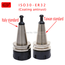 цена на Anti-rust ISO30 ER32 ER20 ER25 ER16 45L 60L tool holder balance high speed chuck G2.5 30000RPM CNC milling