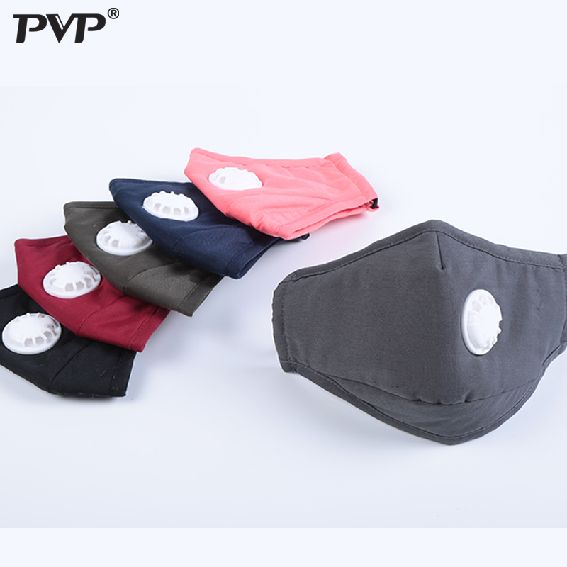 Anti Pollution Mask Dust Respirator Washable Reusable Masks Cotton Unisex Mouth Muffle For Allergy/Asthma/Travel/ Cycling