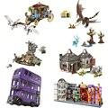 Harri Magic Worlds Hogwartinglys часы башня большой зал lepining Harri 75945 75946 75957 75958 строительные блоки кирпичи игрушка