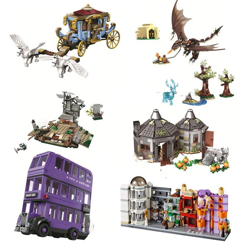 Harri Magic Worlds Hogwartinglys Clock Tower Great Hall Lepining Harri 75945 75946 75957 75958 75965 Building Block Bricks Toy