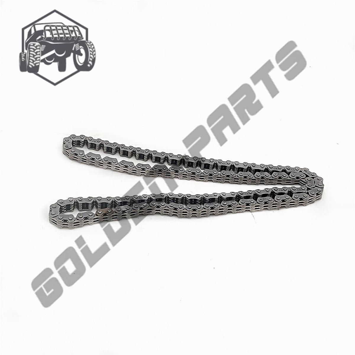 Chaîne de distribution M7-6.35-124 pour HISUN 500 ATV UTV pièce de rechange 14302-004000-0000 chaîne de vélo en acier de haute qualité Durable