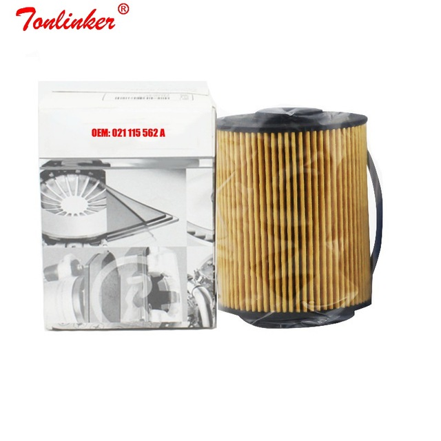 Oil Filter Fit For Volkswagen Phaeton 3.2L 3.6L 6.0L 2006 2016 Passat Caravelle T5 Touaregs Audi Q7 Model Car Filter 021115562 A