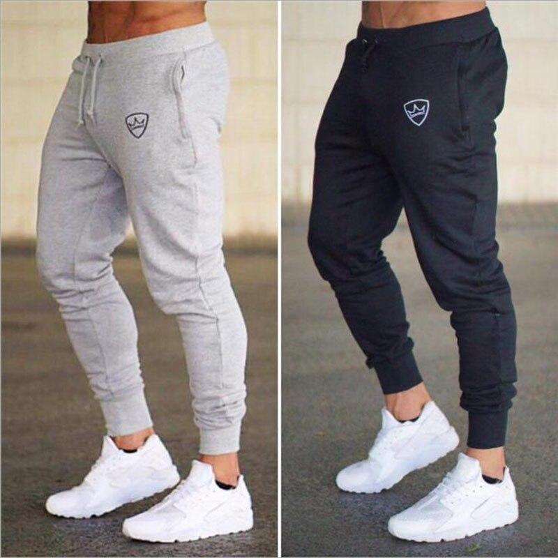 2019 Verano Nueva Moda Pantalones De Sección Delgada Pantalones De Hombre Casual Jogger Culturismo Fitness Sudor Tiempo Limitado