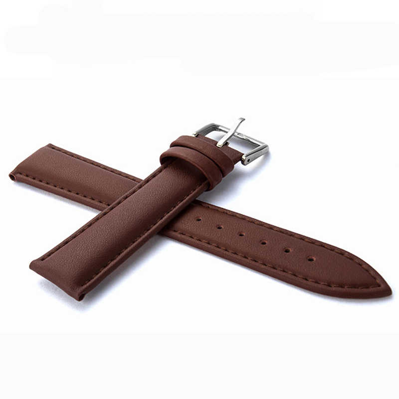 BENYAR Lederen Horlogebandje 20m 24mm Lederen 22mm Geschikt Voor Mannen Horloge Vrouwen Horloges