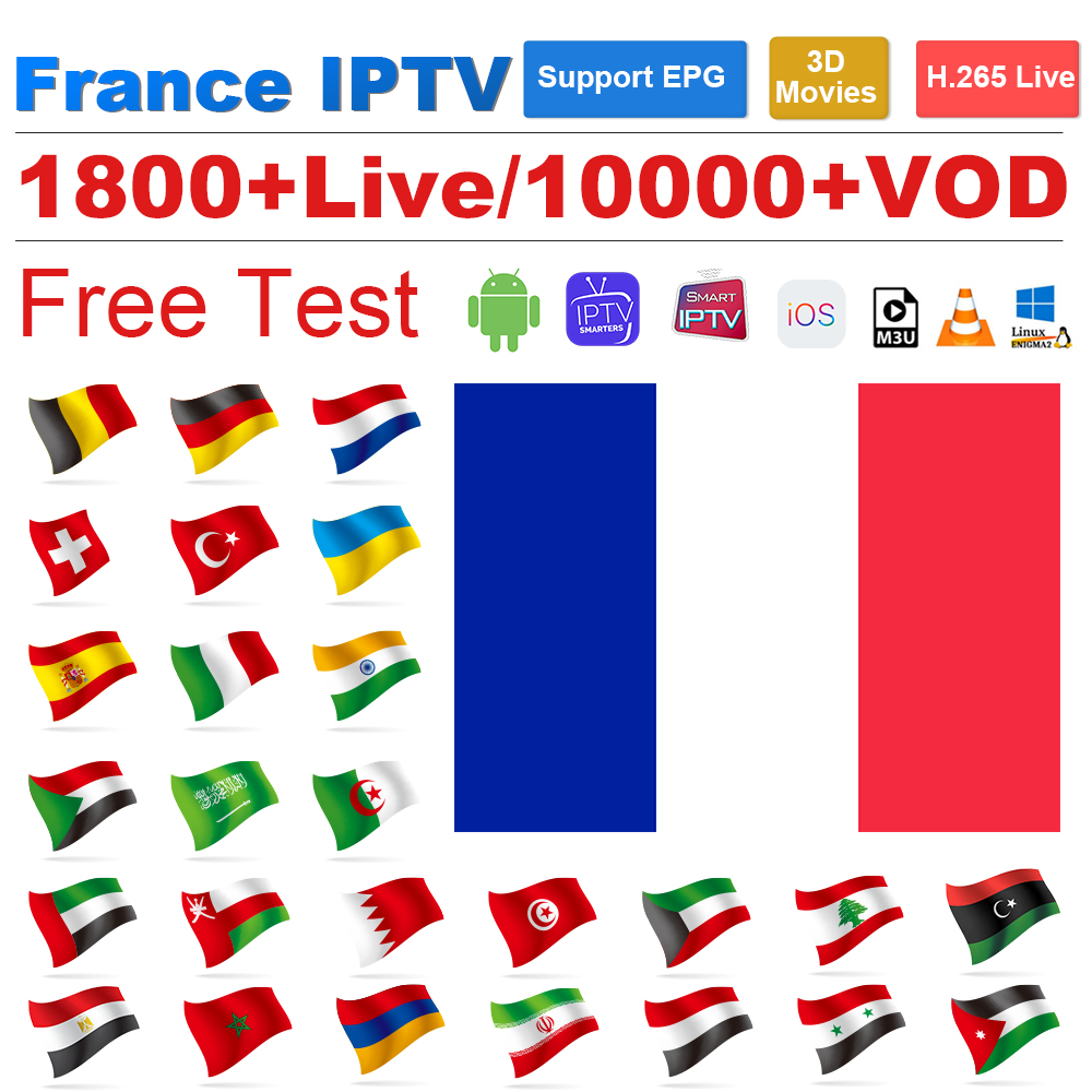 IPTV Arabic France Algeria IPTV Subscription Italy M3U Android MAG IPTV Germany Belgium Dutch Spain Turkey UAE IP TV French Code
