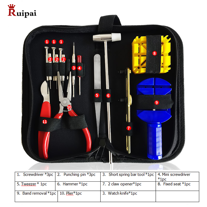 Watch repair kit