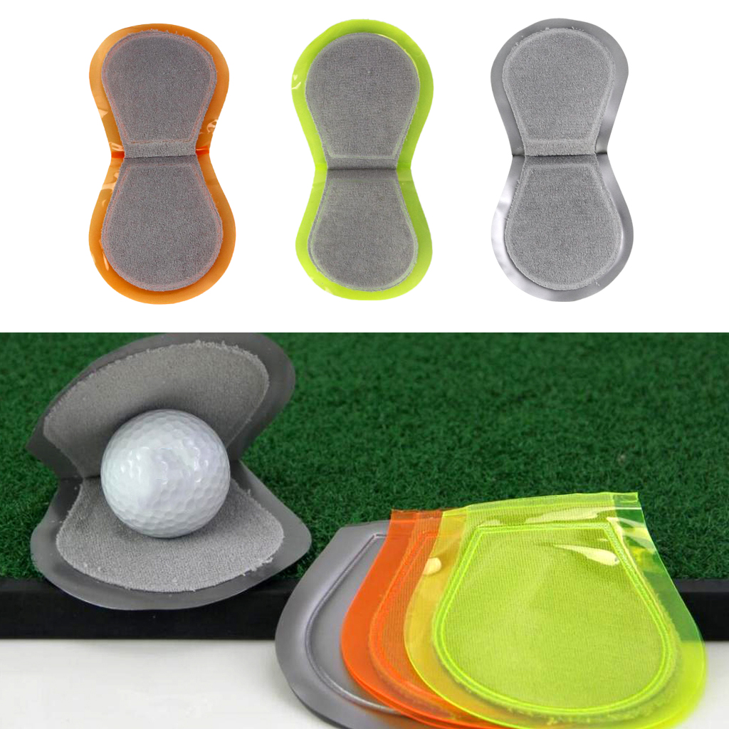 11 X 10 Cm Pocket Golf Ball Cleaner Washer Toweling Golfball Cloth Club Clean Towel Accesssories For Clubs Caddies Golfers