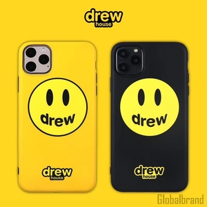 Fashion trend brand Justin Bieber drew house Phone Case For iPhone XR X XS 11 Pro Max 8 7 Plus Smiley face soft IMD Cover(China)