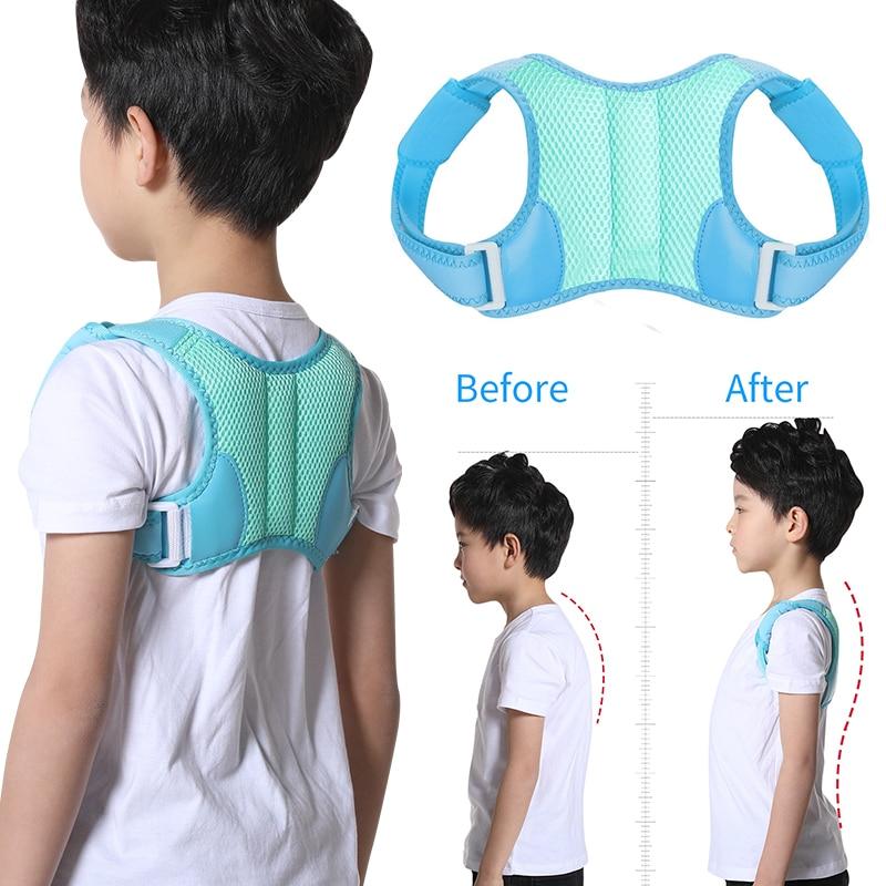 Adjustable Children Posture Corrector Back Support Belt Kids Orthopedic Corset For Kids Spine Back Lumbar Shoulder Braces