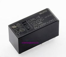 10 stücke! Marke neue und original 12V 24V PCB relais relais G2RL 2 12VDC G2RL 2 24VDC DPDT 8pins 8A