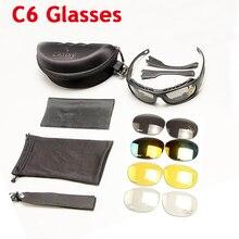 Daisy C6 Polarized Tactical Glasses Military Goggles Army Su
