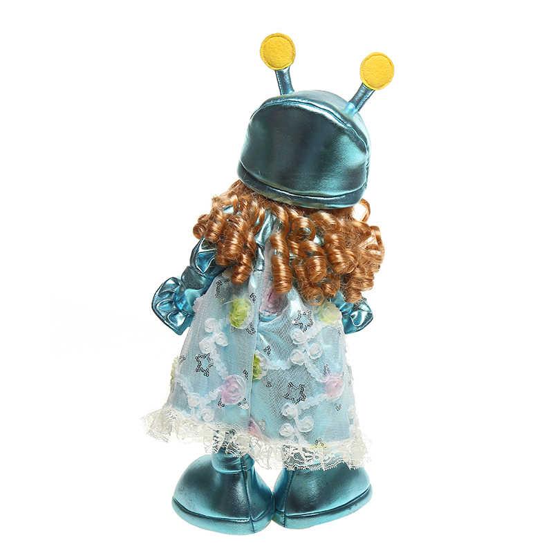 50 cm taniec gąsienica zabawka dla malucha interaktywny elektroniczny Robot elektroniczna dziewczyna lalka zabawka rekord edukacyjne zabawki dla dzieci
