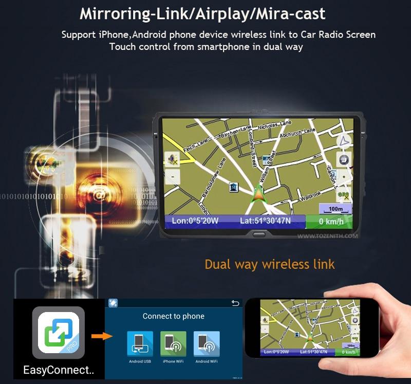 ANDROID9.0 TOYOTA COROLLA E120 E130 E140 E150 PRADO HILUX UNIVERSAL HIACE AYGO FORTUNER INNOVA 4G MODEM CAR DVD (3)