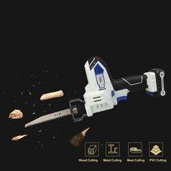 Newone/Kenso 12V mutifunctional Portátil Carregamento Alternativo Serra Elétrica Serra Sabre para madeira ferramentas de poder com bateria de lítio