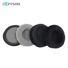 IMTTSTR 1 çift kadife deri kulak pedleri kulak yastıkları kulaklık için yedek Superlux HD 681EVO 668B HD681 681B 662 kulaklık