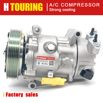 sd6c12 a/c compressor for Citroen Berlingo C3 C4 Coupe Grand Picasso 9670318880 9659875780 9678656080, 9651910980 6453WL 6453QK