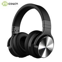 Cowin E7Pro aktif gürültü Bluetooth kulaklıklar kablosuz üzerinde kulak Stereo kulaklık telefon için mikrofon ile