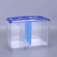 Прозрачная коробка для подростков двухслойная многофункциональная