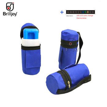 Brilljoy New Portable Insulin Cooler Bag Insulated Diabetic Insulin Travel Case Cooler Box Bolsa Termica ice box ice bag 2019 insulin refrigerator cooler medical travel insulin storage box cool case bag medicine interferon insulin pen small refrigerator