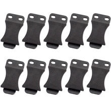 """10PCS/LOT Quick Clips For 1.5"""" Belts Kydex Holster Belt Clip Loop with Screw Fits IWB Applications Tool Part"""