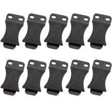 """Boucle de ceinture avec vis pour ceintures Holster Kydex de 1.5 """", Clips rapides, convient aux Applications IWB, 10 pièces/lot"""