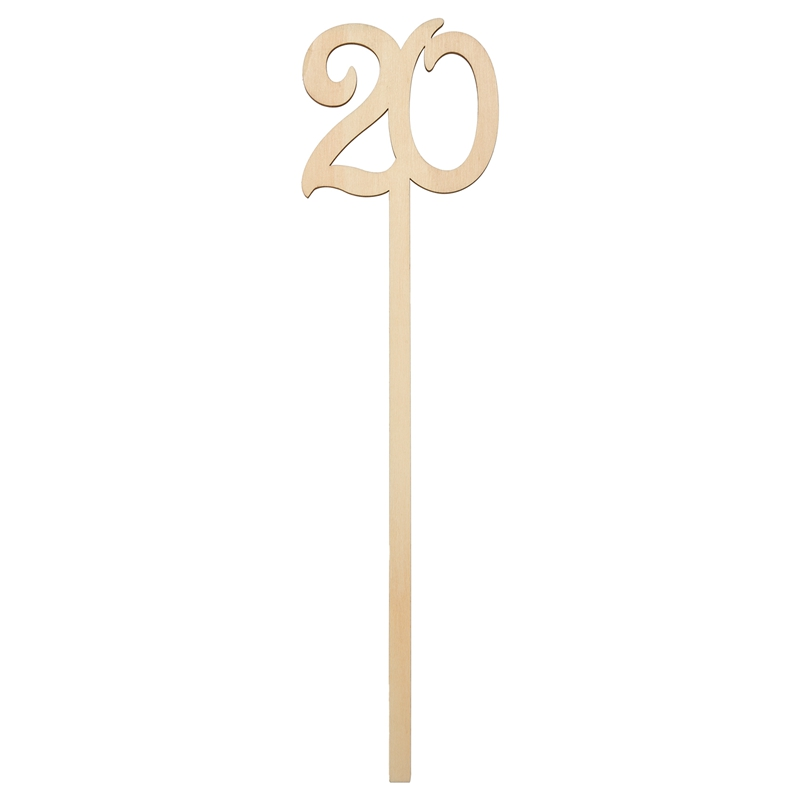 Wooden Wedding Table Numbers 1-25 pcs Vintage Home Birthday Party Event Banquet Decor Anniversary Decoration Favors Signs Color
