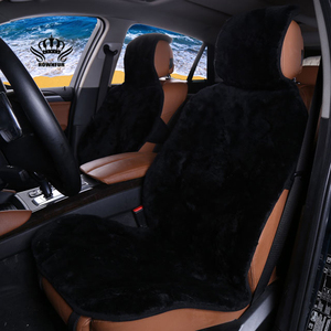Image 2 - فو الفراء غطاء مقعد السيارة الشتاء الأبيض العالمي السيارات الداخلية الاصطناعي الفراء وسادة مقعد السيارة لتويوتا BMW كيا مازدا فورد