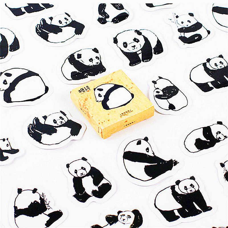 Bella di Vendita calda Panda Cancelleria Adesivi Pianeta di Carta Adesiva Creativo Kawaii Adesivi Decorazione Diario Scrapbooking