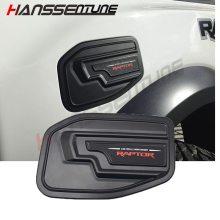 Hanssentune 4X4 1 Pc Matte Black Gas  Tank Cover  ABS Plastic  Tank Cap  For FORD RANGER RAPTOR