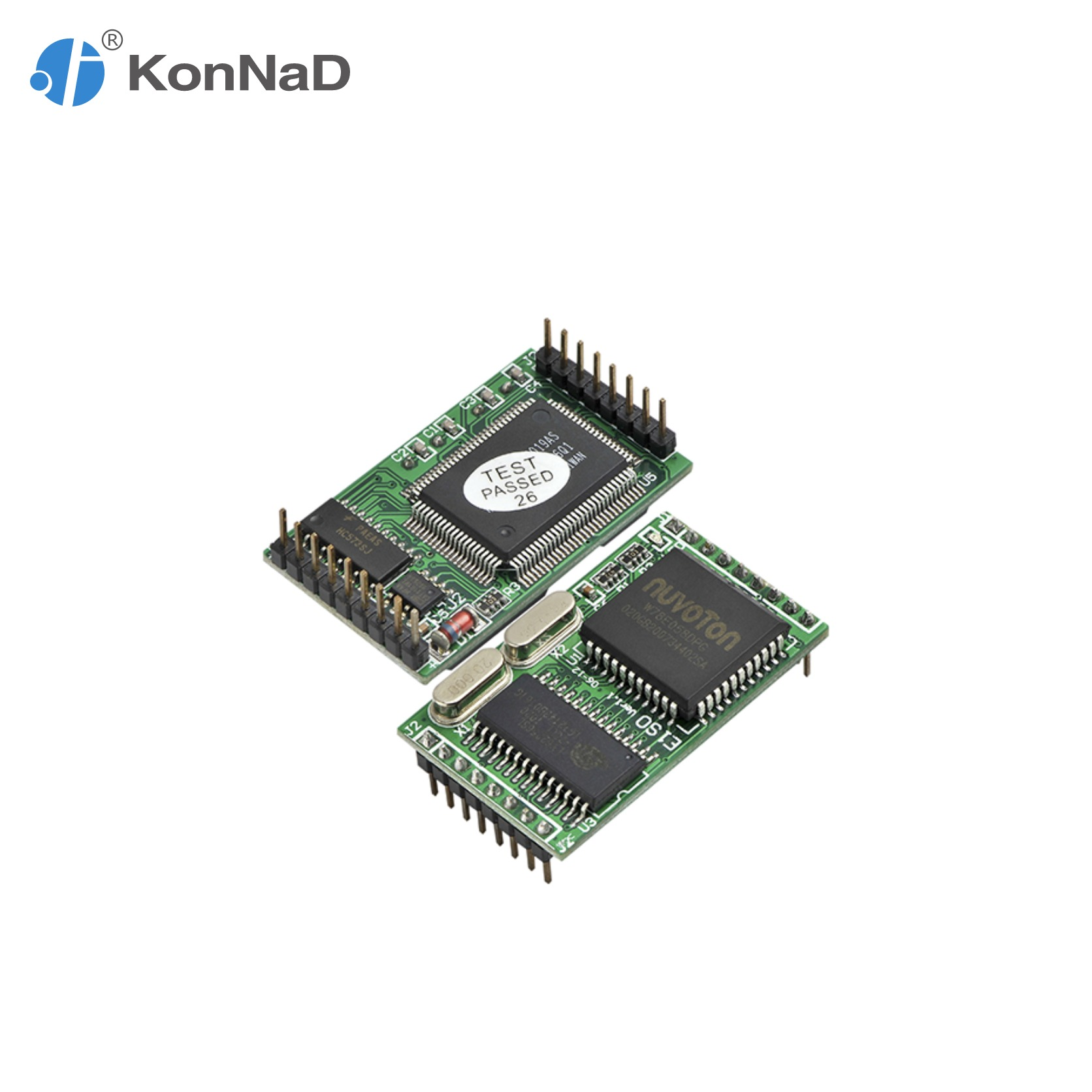 RS485 RS232 TTL To Ethernet 1 Port Converter Embedded Support VCOM  Serial Device Server KonNaD