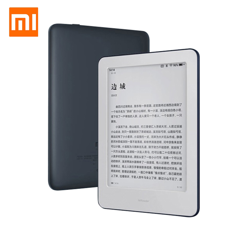 Xiaomi MiReader E-book HD 6 pouces 1GB + 16GB Intelligent bureau lecteur d'écran tactile tablette électronique papier détection E-book