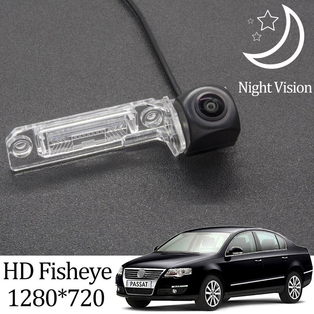 Камера заднего вида «рыбий глаз» Owtosin HD 1280*720 для Volkswagen Passat B6 2005 2006 2007 2008 2009 2010, автомобильные парковочные аксессуары