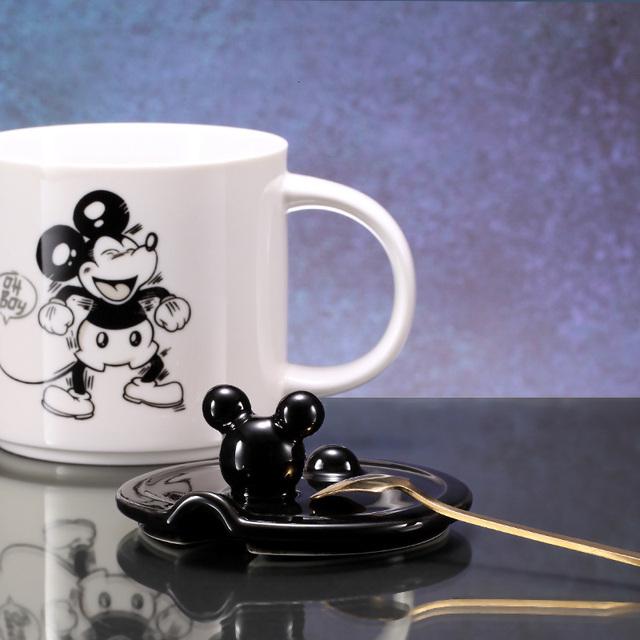 Disney o dużej pojemności kubek ceramiczny kreatywny kubek moda Cartoon biuro mężczyźni kobiety kawa z mlekiem kubek ceramiczny kubki dla dzieci tanie i dobre opinie 400 ml DSN Mother Baby Online retail Store Drinkware Babies Mickey Mouse Mickey Mouse Mug Men s mug kettle Christmas gifts
