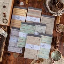 Papier artisanal de la série vieux billet bronzant, papier artisanal décoratif Vintage pour Album Photo, Album de Journal intime et planificateur, DIY bricolage