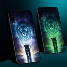 Funda de teléfono para Huawei Honor View 20 Pro 10 Lite Funda trasera luminosa de cuero para Huawei Note 10 Play Funda Coque Capa(China)