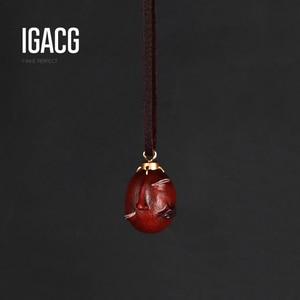 Image 1 - Collar Griffith Berserk Behelit Crimson Beherit Guts Beheritto The Egg Of The King con cuerda de cuero, tipo activado, 1997